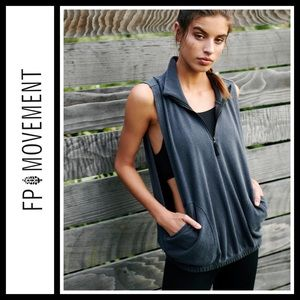 Free People Movin' On Vest NWT
